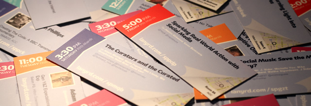 A photo of our speaker MiniCards